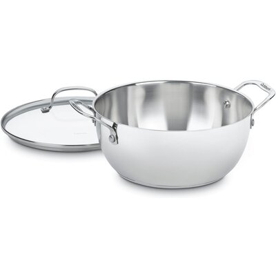 Stainless 5.5 Qt. Multi Purpose Pot by Cuisinart