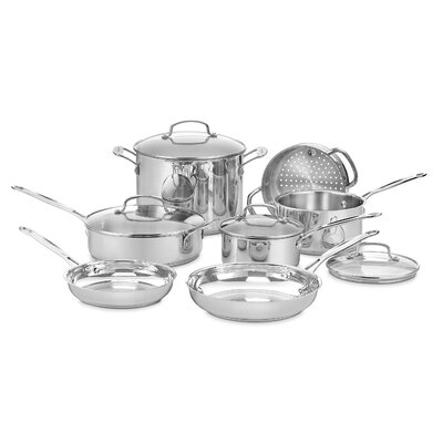 Chef's Classic 11 Piece Cookware Set by Cuisinart
