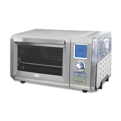 0.6 Cubic Foot Combo Steam and Convection Oven by Cuisinart