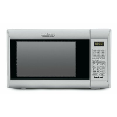 1.2 Cu. Ft. 1000W Countertop Microwave in Silver Product Photo