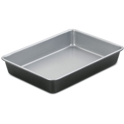 Chef's Classic Nonstick Two-Tone Metal Rectangular Cake Pan by Cuisinart