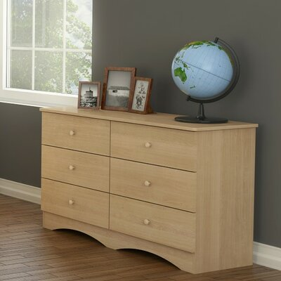 Alegria Double 6 Drawer Dresser by Nexera