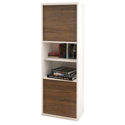 "Nexera Liber-T Storage Unit 56"" Standard Bookcase"