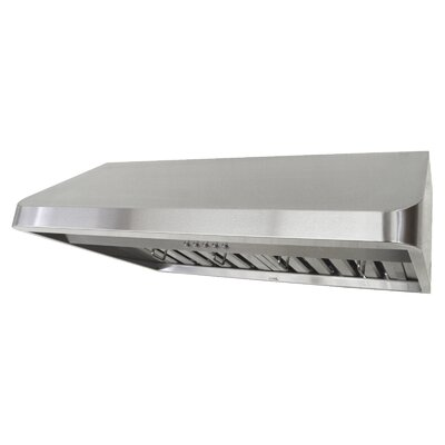 "Brillia 29.75"" 680 CFM Under Cabinet Range Hood in Metallic Product Photo"