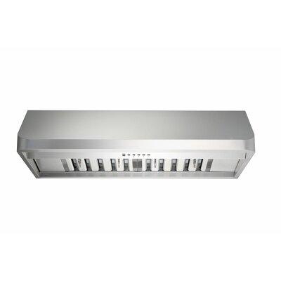"Premium 35.75"" 300 - 760 CFM Under Cabinet Range Hood Product Photo"