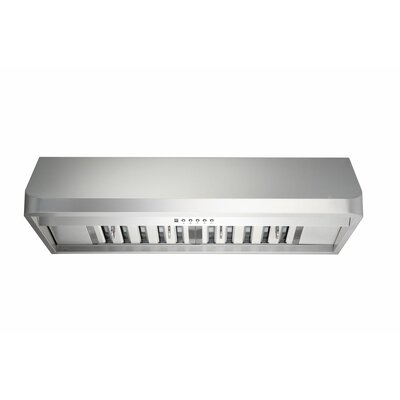 "Premium 41.75"" 300 - 760 CFM Under Cabinet Range Hood Product Photo"