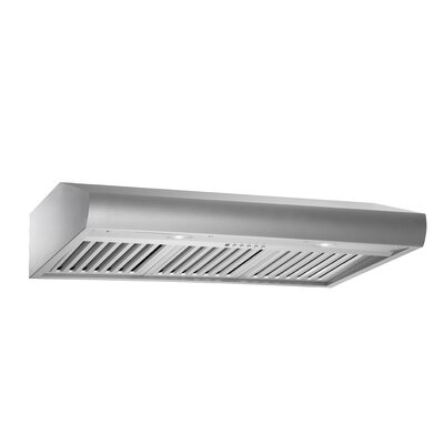 "Premium 35.75"" 280 - 720 CFM Under Cabinet Range Hood Product Photo"