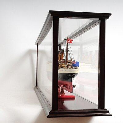 Old Modern Handicrafts Cruise Liner Mid Display Case