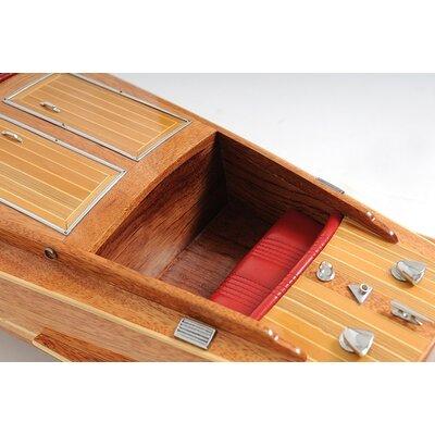 Old Modern Handicrafts Chris Craft Runabout Model Boat
