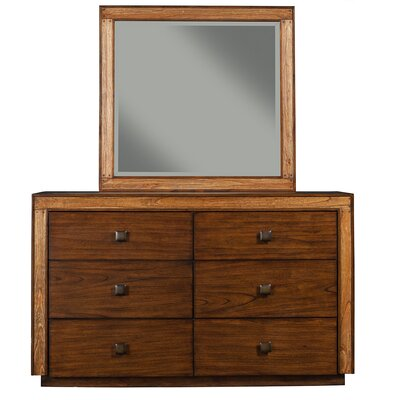 Origins by Alpine Jimbaran Bay 6 Dresser with Mirror