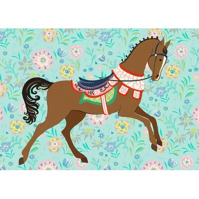 Floral Filly by Pim Pimlada Canvas Art by Oopsy Daisy