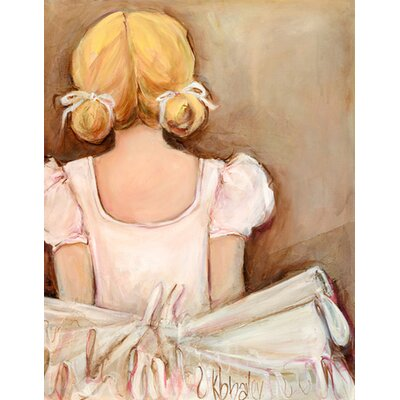 Beautiful Ballerina by Kristina Bass Bailey Canvas Art by Oopsy Daisy