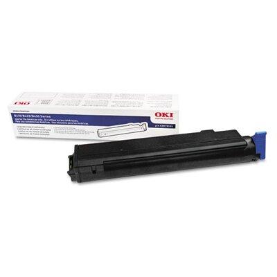 Okidata 43979201 OEM Toner Cartridge, 7000 Page Yield, Black