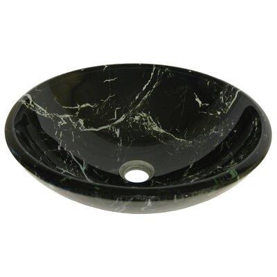 Pallina Glass Vessel Bathroom Sink by Novatto