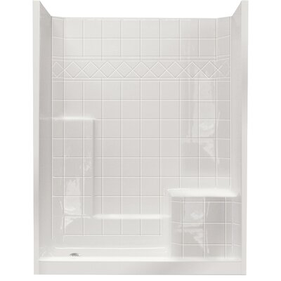 Standard Low Threshold System 3 Panels Shower Wall Product Photo
