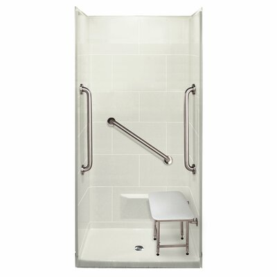 Plus 36 4 Piece Rectangular Shower Kit Product Photo