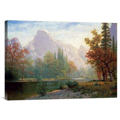 'Half Dome: Yosemite' by Albert Bierstadt Painting Print on Canvas by Global Gallery