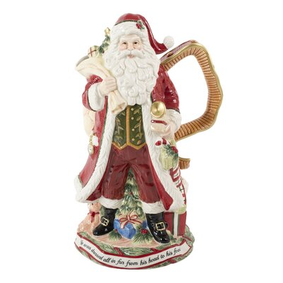 Night Before Christmas Pitcher by Fitz and Floyd
