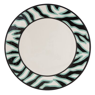 Fitz and Floyd Cockatoo Round Platter