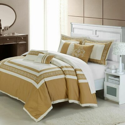 Venice 7 Piece Comforter Set by Chic Home