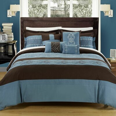 Province 12 Piece Comforter Set by Chic Home