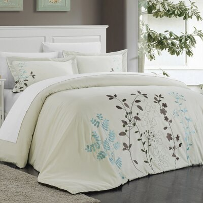 Kaylee 3 Piece Duvet Set by Chic Home