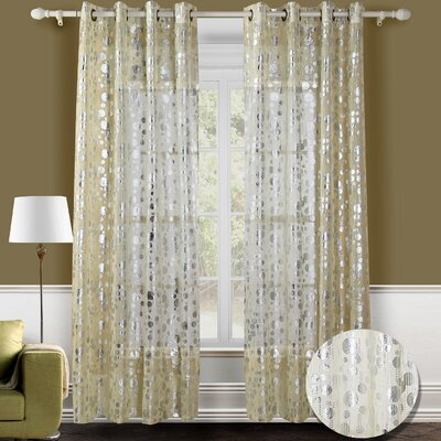 Chic Home Spotlight Semi Grommet Curtain Panels
