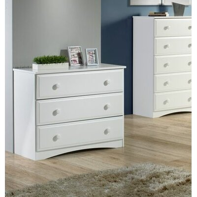 Essentials 3 Drawer Chest by Camaflexi