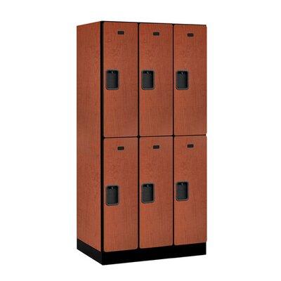 Salsbury Industries 2 Tier 3 Wide Designer Locker