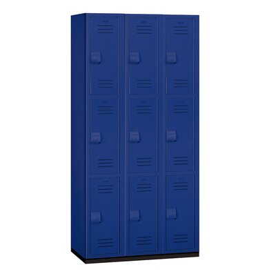 Salsbury Industries 3 Tier 3 Wide Heavy Duty Locker