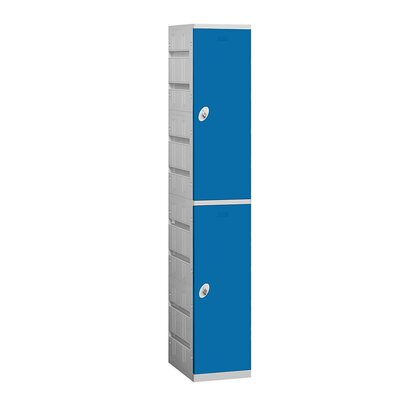 Salsbury Industries Assembled Double Tier 1 Wide Locker