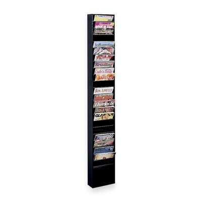 Buddy Products 23 Pocket Display Rack