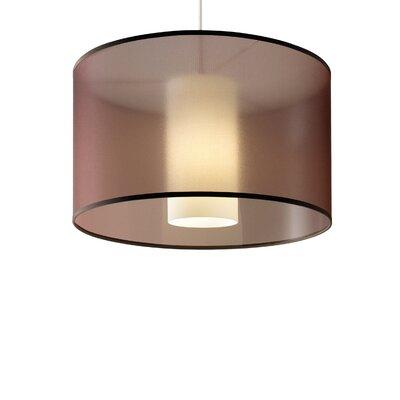 Dillon 2-Circuit 1 Light Drum Pendant by Tech Lighting