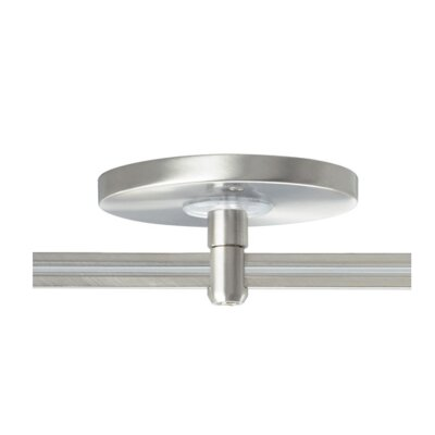 MonoRail Round Single Power Feed Canopy by Tech Lighting