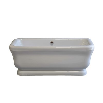 "Solitude 70"" x 34"" Soaking Bathtub Product Photo"