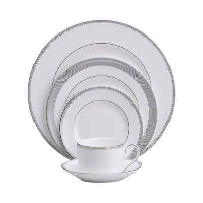Grosgrain 5 Piece Place Setting by Vera Wang