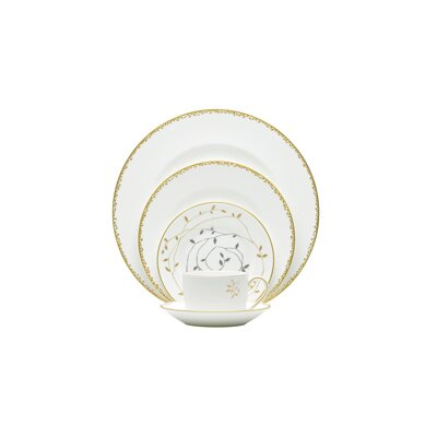 Gilded Leaf Dinnerware Collection by Vera Wang