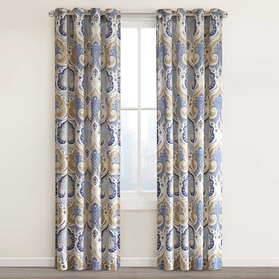 Jaipur Window Single Curtain Panel Product Photo