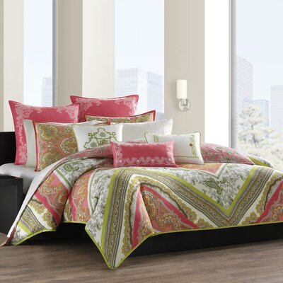 Gramercy Paisley Duvet Cover by echo design