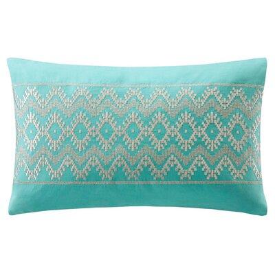 Mykonos Cotton Linen Lumbar Pillow by echo design