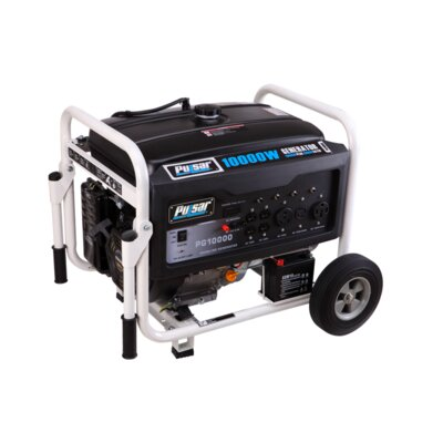 10,000 Watt Gasoline Generator with Electric Start by Pulsar Products
