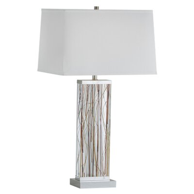 pampa 29 h table lamp with rectangular shade wayfair. Black Bedroom Furniture Sets. Home Design Ideas
