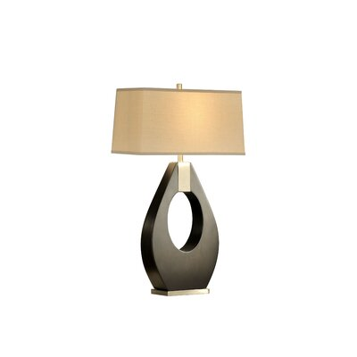 "Nova Pearson 30"" H Table Lamp with Rectangular Shade"