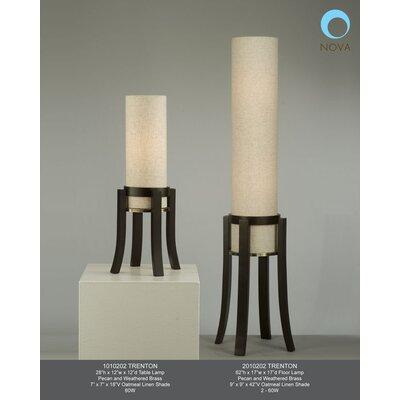 "Nova Trenton 28"" H Table Lamp with Drum Shade"
