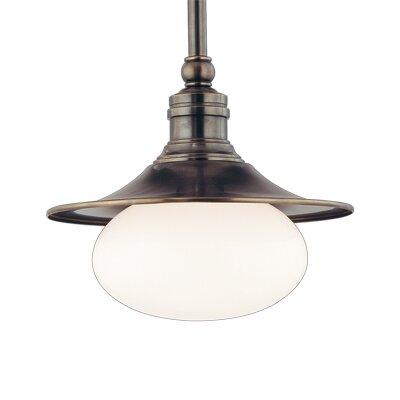 Lawton 1 Light Pendant by Hudson Valley Lighting
