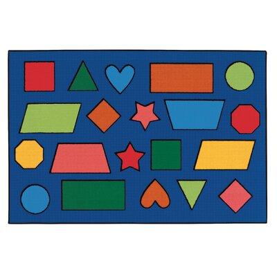 Kids Value Rugs Color Shapes Kids Rug