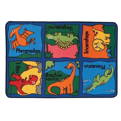Kids Value Rugs Dino-Mite Kids Rug