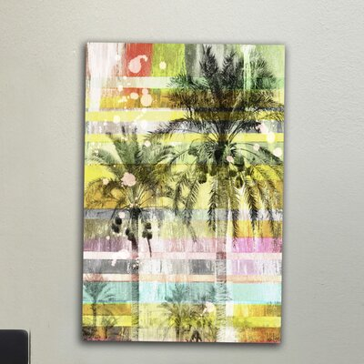 Jen Lee Art Another Day Graphic Art on Canvas