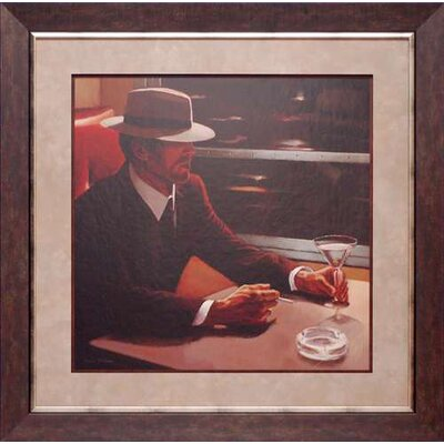Dry Martini Crop I by Myles Sullivan Framed Painting Print by North American Art