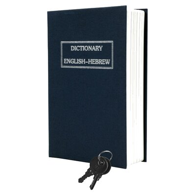Stalwart Dictionary Diversion Metal Key Lock Book Safe